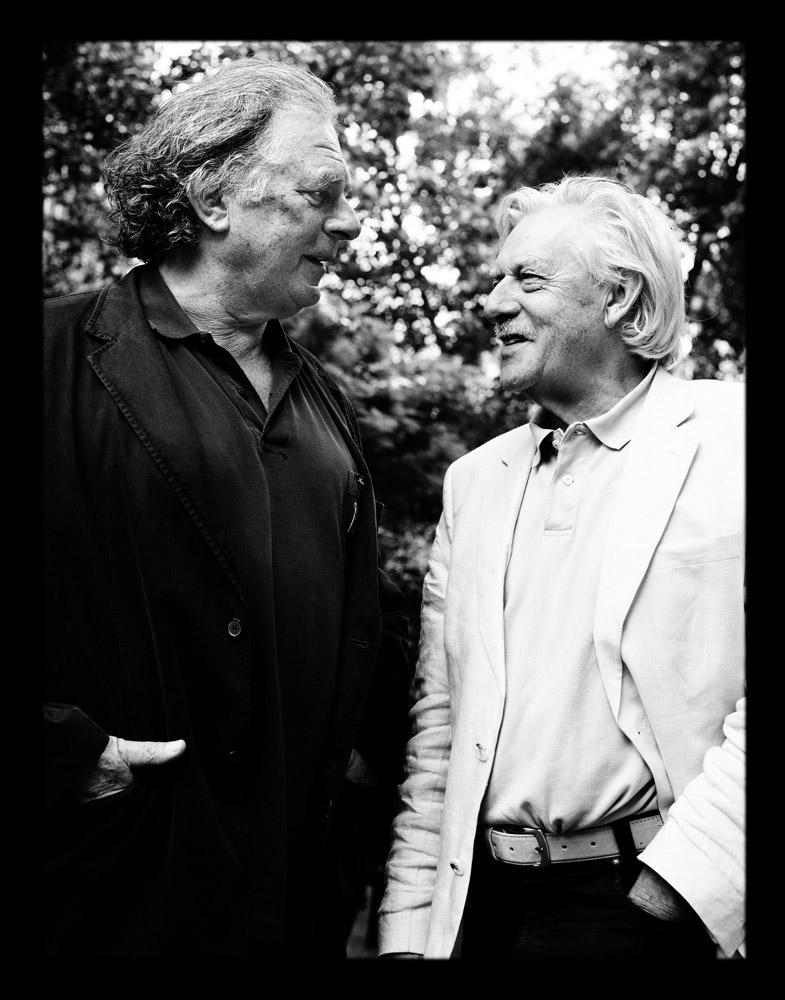 Jan Siebelink en Jan Cremer